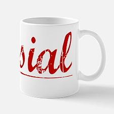 Musial, Vintage Red Mug