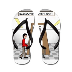 Cheap Grace Supermarket Flip Flops