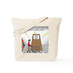 Cheap Grace Supermarket Tote Bag