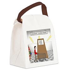 Cheap Grace Supermarket Canvas Lunch Bag