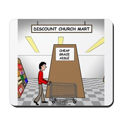 Cheap Grace Supermarket Mousepad