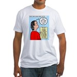 Pastor Call List Fitted T-Shirt