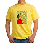 Pastor Call List Yellow T-Shirt