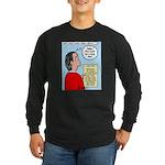 Pastor Call List Long Sleeve Dark T-Shirt
