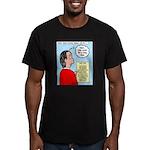 Pastor Call List Men's Fitted T-Shirt (dark)
