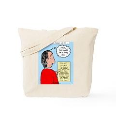 Pastor Call List Tote Bag