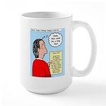 Pastor Call List Large Mug