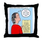 Pastor Call List Throw Pillow