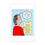 Pastor Call List Mini Poster Print