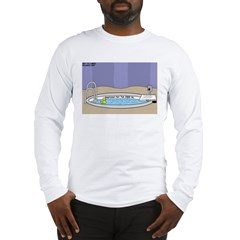 Baptismal Hot Tub Long Sleeve T-Shirt