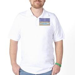 Baptismal Hot Tub Golf Shirt