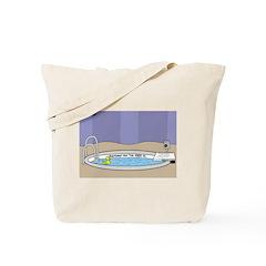 Baptismal Hot Tub Tote Bag