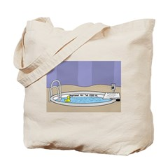 Baptismal Hot Tub Tote Bag