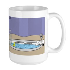 Baptismal Hot Tub Mug