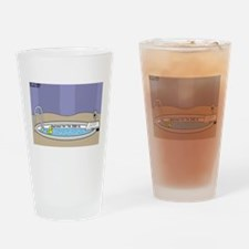 Baptismal Hot Tub Drinking Glass