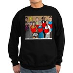 How Great Thou Arrt! Sweatshirt (dark)