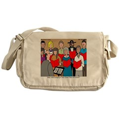 How Great Thou Arrt! Messenger Bag