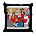 How Great Thou Arrt! Throw Pillow