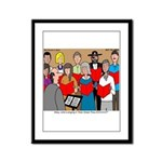 How Great Thou Arrt! Framed Panel Print