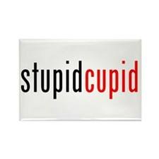 Stupid Cupid (A) Rectangle Magnet