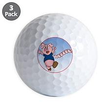 WeeeeePig-C8trans Golf Ball