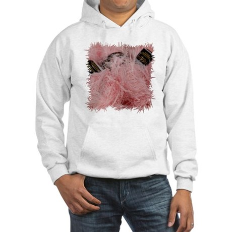 pinkYarn_SQ_12_frame Hooded Sweatshirt