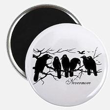 Nevermore Ravens Magnet