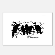 Nevermore Ravens Postcards (Package of 8)
