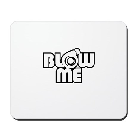 blow me turbo Mousepad