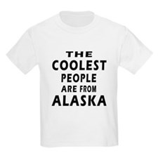 The Coolest People Are From Alaska T-Shirt