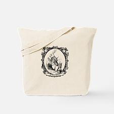 The White Rabbit Tote Bag