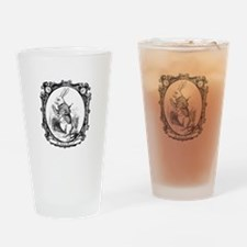 The White Rabbit Drinking Glass