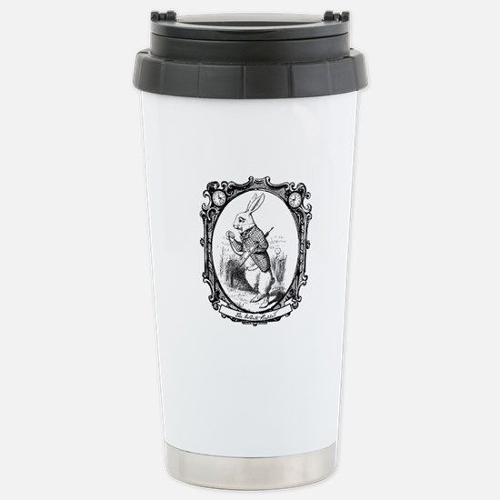 The White Rabbit Stainless Steel Travel Mug