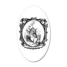 The White Rabbit Wall Decal