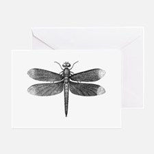 Vintage Dragonfly Greeting Card