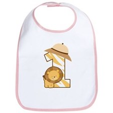 1st Birthday Safari Lion Bib