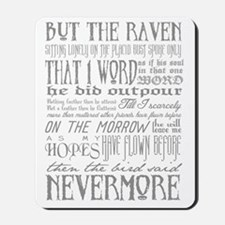 Raven Nevermore Mousepad