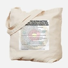 2012 Tshirt Back Tote Bag
