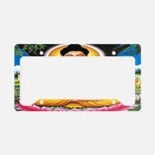 Buddha Car Flag License Plate Holder