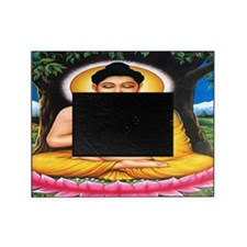Buddha Car Flag Picture Frame