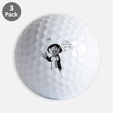 2-ofealia_cafeP Golf Ball