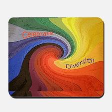 Diversity square1 Mousepad