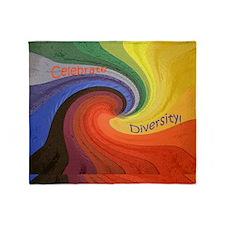Diversity square1 Throw Blanket
