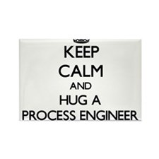 Keep Calm and Hug a Process Engineer Magnets