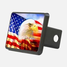 American Bald Eagle Collage Hitch Cover