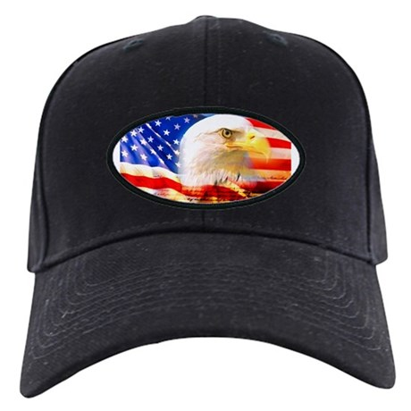American Bald Eagle Collage Baseball Hat