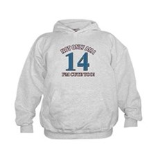 14 year old birthday designs Hoodie