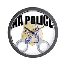 aa-police Wall Clock
