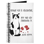 Heart Shredder Kitty Journal