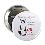 Heart Shredder Kitty Button